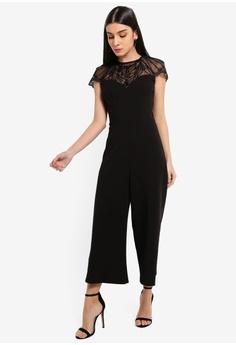 e6a198e2154 Lipsy black Black Emb Yolk Jumpsuit 6D2A3AA76C9AEAGS 1
