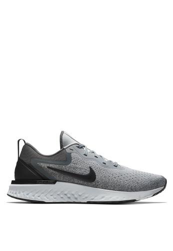 Nike black and grey Men's Nike Odyssey React Running Shoes 08B92SH0DE984CGS_1