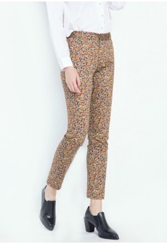 Geo Strokes Abstract Trousers