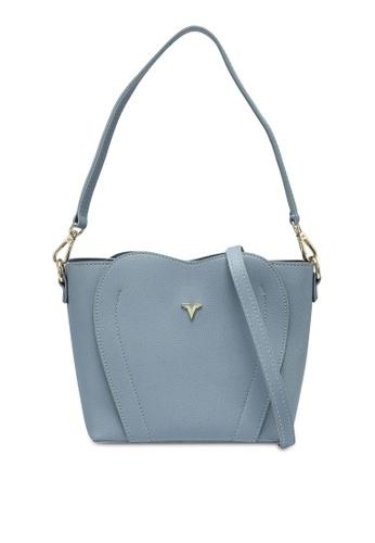 Verchini blue Top Handle Casual Bag 2BCF4AC348D659GS_1