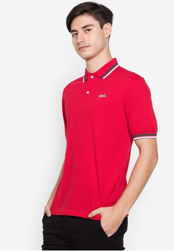 Le Tigre red Men's Classic Polo Shirt 6176BAAE41E8BDGS_1