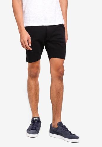 Jack & Jones black Sweat Shorts C475CAA500B5BAGS_1