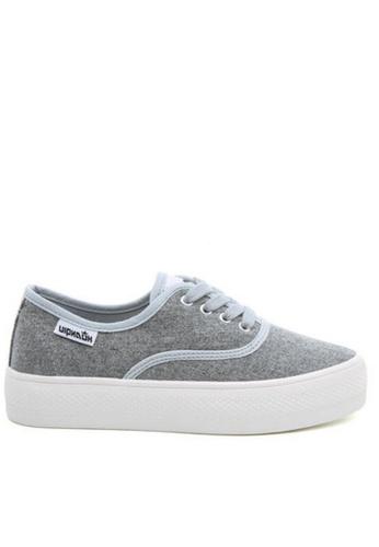 Twenty Eight Shoes grey Platform Sneakers 17022 TW446SH40ZGLHK_1