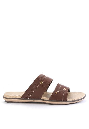 Homyped brown Thunder 02 Men Sandals HO842SH0VNJ8ID_1