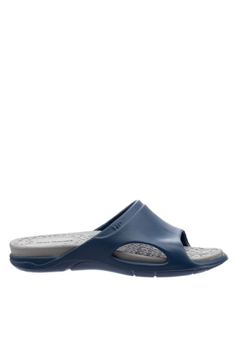 Hush Puppies grey Hush Puppies Boxster Slide In Grey 13228SHD5AF90EGS_1