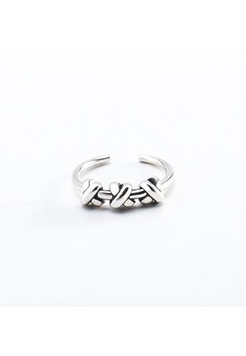 OrBeing white Premium S925 Sliver Geometric Ring 72FC7ACCB5C211GS_1