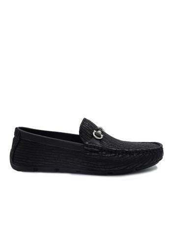 Goldlion black Goldlion Premium Loafer Shoes in Black (HSH211TG92B-99) 38C7ASHD4D0378GS_1