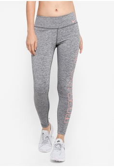 Nike grey Women's Nike Power Training Tights 34D5DAAAD76842GS_1