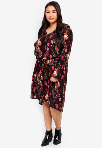 Junarose black Plus Size Keenan Dress BD401AAB31E5DAGS_1