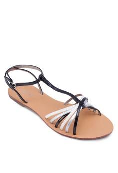 Asta Multi-Colour Strappy Sandals