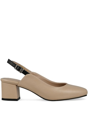 MAYONETTE brown Mayonette Cherry Heels - Cream FFDE0SH6FF46FAGS_1