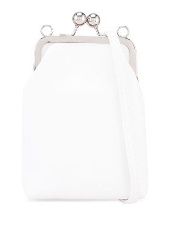 Keddo white Rosa Sling Bag 44366AC1FDA3DFGS_1