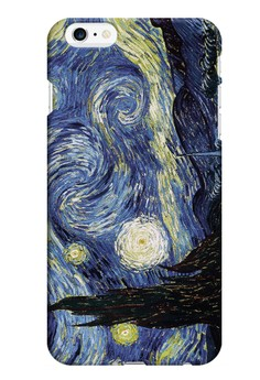 Starry Night Matte Hard Case for iPhone 6 Plus