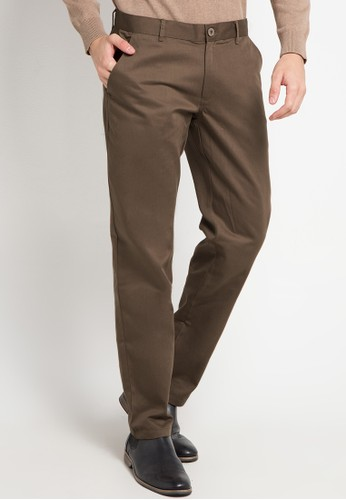 Tolliver brown Long Pants Chinos 84A67AA3D76BD4GS_1