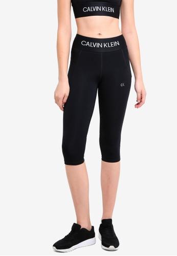 Calvin Klein black Modular Knee Leggings - Calvin Klein Performance 70A23AA7885224GS_1