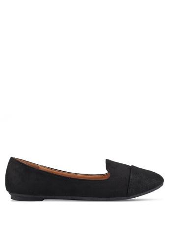 Noveni 黑色 Casual Ballerina Flats 12826SHC33A86DGS_1