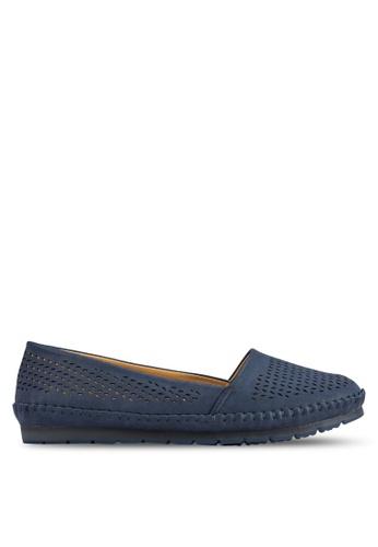 Noveni blue Casual Flats NO978SH69ZYGMY_1