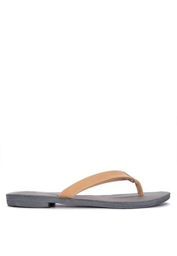 5f2f0232d20 Shop Janylin Thong Flat Sandals Flats Online on ZALORA Philippines