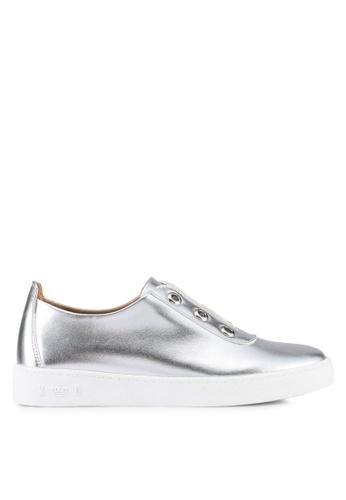 Keddo silver Metallic Sneakers 095AESH77A0289GS_1