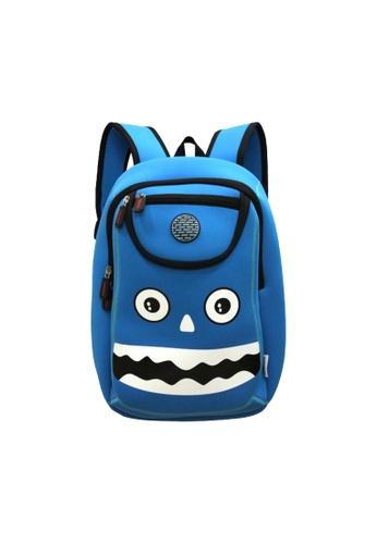 Nohoo blue Nohoo Kids Backpack Happy Monster (Blue) 90741KC2A95066GS_1