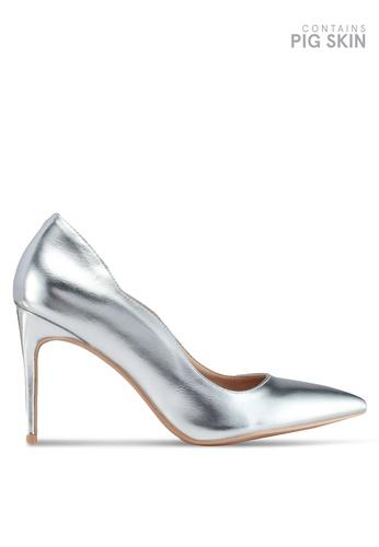 7734fcb09c2da Shop LOST INK Pippa Mid Heel Court Shoes Online on ZALORA Philippines