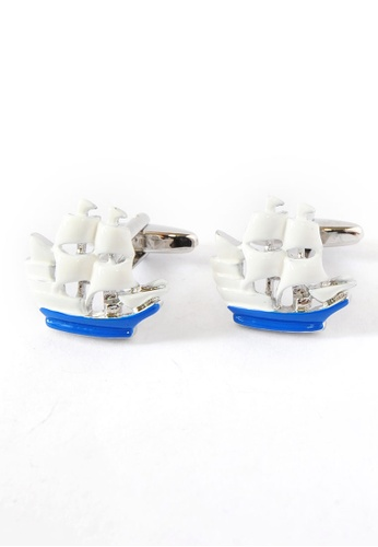 Splice Cufflinks Old Style Sailing Ship Cufflinks, Ship Sailing Nautical Boat Sea SP744AC99DQESG_1