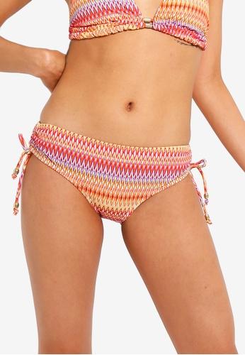 DORINA orange and multi Waikiki Classic Hipster Bikini Bottom 106F4US9496D1DGS_1