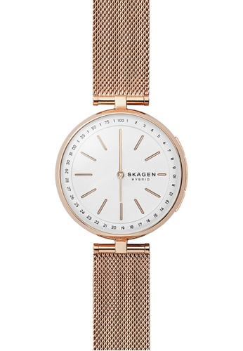 6a477684a1b2 Skagen gold Skagen Signatur Rose Gold Smart Watch SKT1404 SK533AC0SM6IMY 1