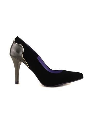 Flatss & Heelss by Rad Russel black Pointed Elegance Heels-Black FL655SH0GHBQSG_1