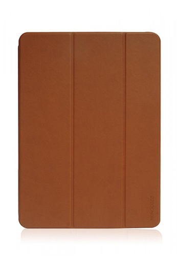 Monocozzi brown Lucid Folio Ultra Slim Hard Flip Case fro iPad Pro 11 (2018) with Auto On-Off - Tan 34B2AACA17DE2DGS_1