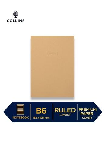 Collins yellow Collins Metropolitan Singapore  ─  Notebook B5 Ruled Yellow 96E9CHL1FDDD95GS_1