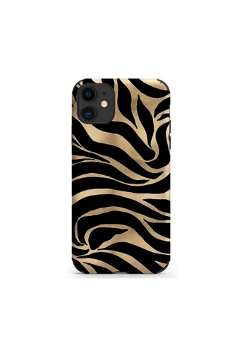 Kings Collection black Zebra Pattern iPhone 12 Pro / 12 Case (KCMCL2402) 94DD2AC50D3C14GS_1