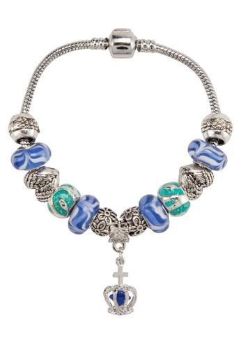 皇冠吊飾大理石雕刻手環, 飾品配件, 手鐲 & esprit 童裝手環