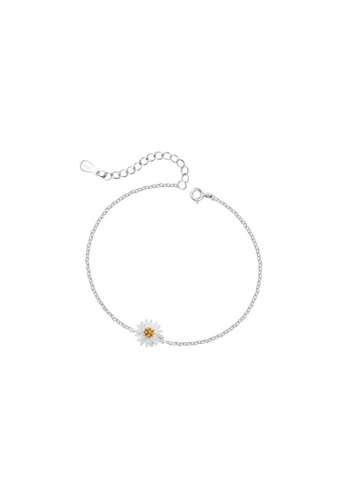 OrBeing 白色 Premium S925 Sliver Geometric Ring 180BEAC88445FBGS_1