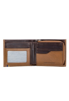 ENZODESIGN New Design Italian Leather Wallet with Zip Coin Compartment K18CM-XSG S$ 103.00. Sizes One Size