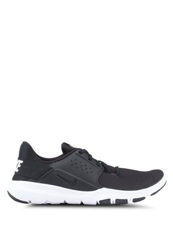 Nike black and multi Nike Flex Control 3 Shoes 24BB3SH94D3135GS_1