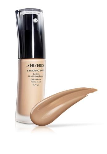 Shiseido brown and beige Shiseido Makeup Synchro Skin Lasting Liquid Foundation, N4 30ml SH514BE0GMFASG_1