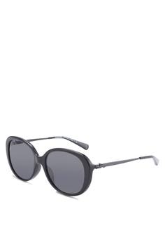 233bc091bd Coach Oval HC8215F Sunglasses CO897GL87ZMEMY 1