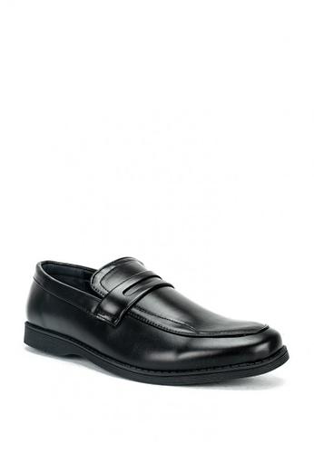 Cardam's Lifestyle black Adam Formal Shoes E3934SH8491DCDGS_1