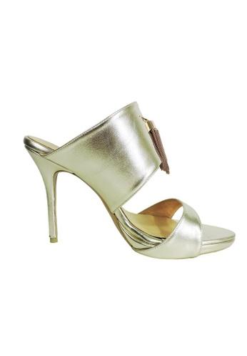 Jacque gold Sentrina Gold Heel with Bell JA262SH0RD94MY_1
