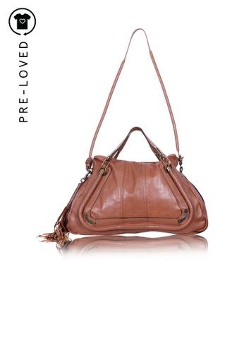 Chloé brown Pre-Loved chloé Brown Paraty Bag FF33CACEA12ADDGS_1