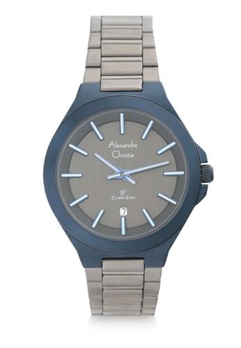 Alexandre Christie grey Alexandre Christie Jam Tangan Wanita - Grey Blue Black - Stainless Steel - 8634 LDBGUDG DC797ACF63E34BGS_1