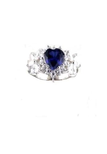 ADORA Silver Zircon Ring AD365AC21YHEHK_1