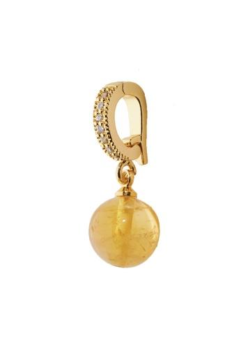 Feithe yellow and gold Citrine Charm 4E1C9AC161F6ECGS_1