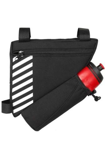 Hamlin black Qian Tas Sepeda Waterproof Dengan Holder Botol Minum Material Polyester ORIGINAL - Black 558A0AC897E36DGS_1