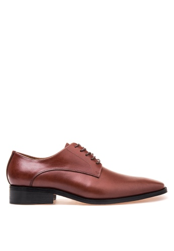Bristol Shoes brown Matthew Brown  Plain Toe Derby BR842SH47KDCPH_1