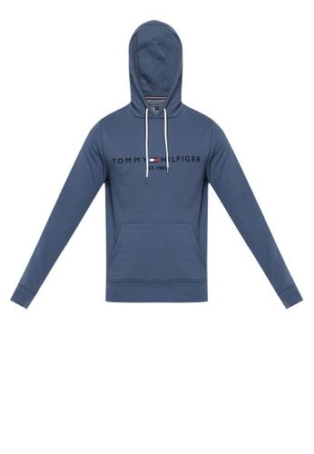 63b7a918997d Shop Tommy Hilfiger Tommy Logo Hoodie Online on ZALORA Philippines