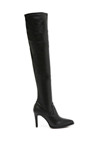 Twenty Eight Shoes black Long Boots PU 2890-9 TW446SH69MLQHK_1