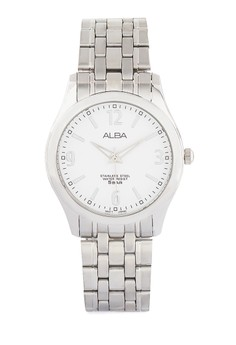 Image of Alba Round Watch Arsy21 Silver