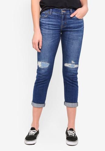 Levi's blue Boyfriend Selvedge Jeans E72F5AAECCFFDDGS_1